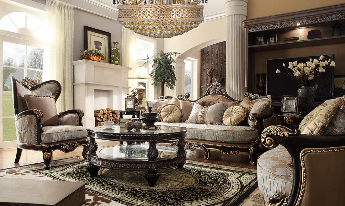 Empire Style Living Room