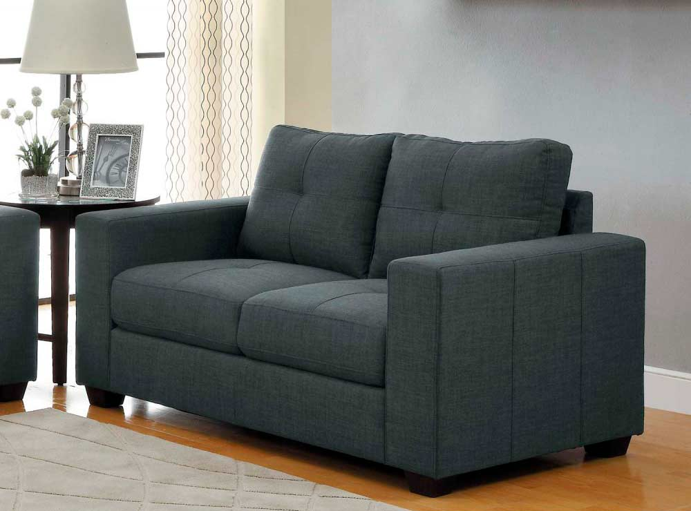 Dark Grey Sofa Collection He639 Fabric Sofas