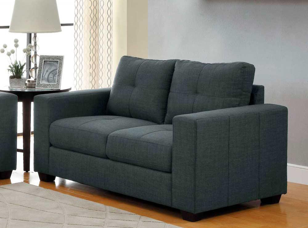 Dark Grey Sofa Collection He639 Fabric Sofas