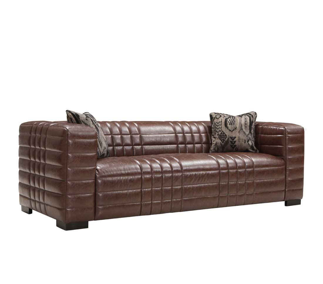 Brown Bonded Leather Sofa Ar Maxima Leather Sofas