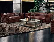 Brown Bonded leather Sofa AR Maxima