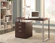 Cappuccino Modern Desk CO 519