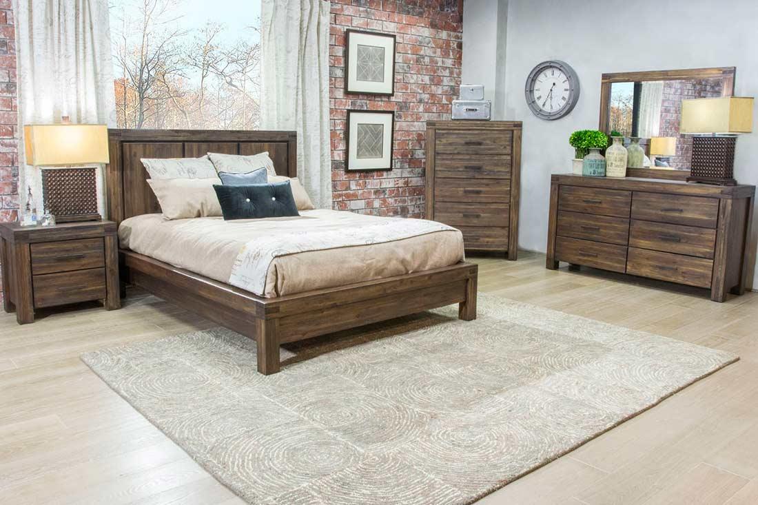 Platform Solid Wood Bed Ms Field Platform Beds