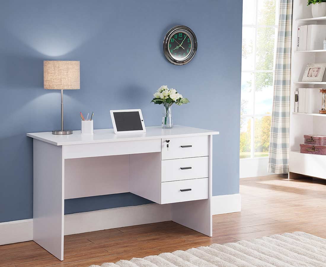 Modern Office Desk: White Office Desk ID178