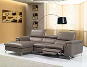 Brown Power Recliner sectional NJ Alberta