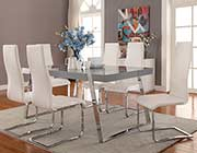 High Gloss Grey Dining Table CO011