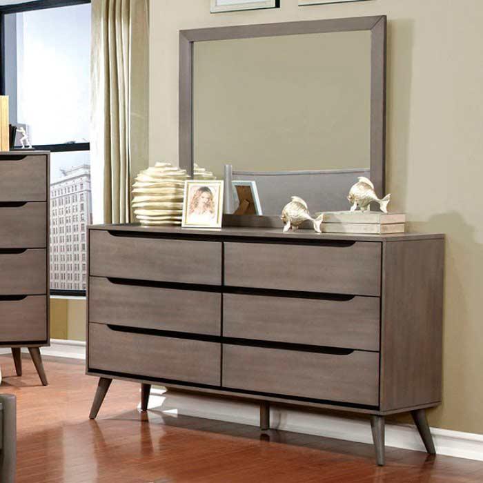 gray finish bedroom fa386g platform beds. Black Bedroom Furniture Sets. Home Design Ideas