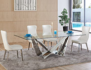 Glass Top Dining Table EF061