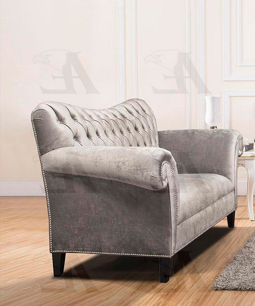 Silver Fabric Sofa Set Ae604 Fabric Sofas