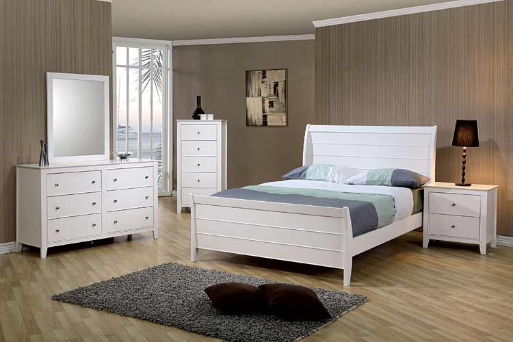 Awesome White Bed CO 231