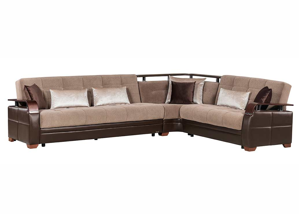 Modular Sectional sofa bed Moon | Fabric Sectional Sofas