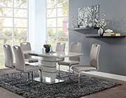 Gray Extendable Dining Table HE 599