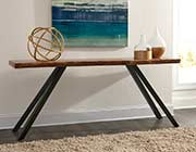 Wood Top Console Table MS Riza