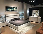 White Lacquer Bed HD Bianca