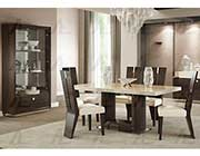 Ebony Finish Dining Table AE 100