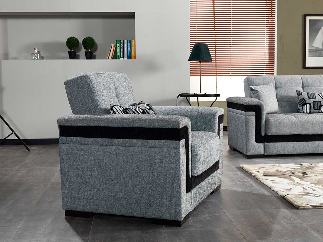 Bartlet Sectional Sofa Sleeper Fabric Sectional Sofas