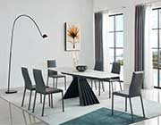 Marble Top Extendable Dining Table EF 251
