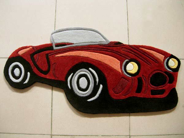 Hot Rod Rug Rf Kids Rugs