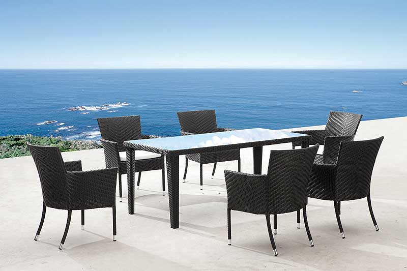 Z 355 Rectangular Outdoor Table Z 355 Outdoor Furniture Sets