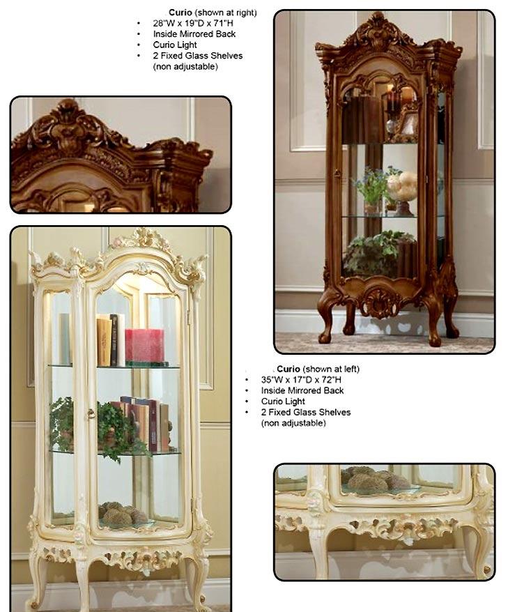 Classic Curio Baroque Victorian Style 04