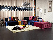 Vg84 Sectional Fabric Fabric Sectional Sofas