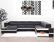 Juster Modern Leather Sectional
