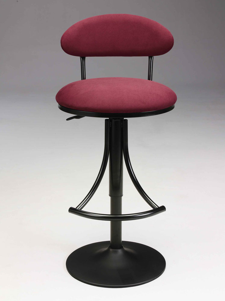 Red Upholstered Bar Stool CR102