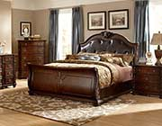 Fotini Leather Traditional Bed HE169