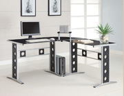 Contemporary L-Shaped Desk CO228