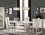 Modern White Dining Collection EF Rica