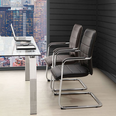 Conference Chair in Black Z-168