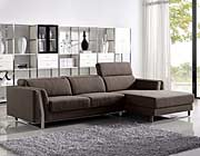Fabric Sectional sofa VG266
