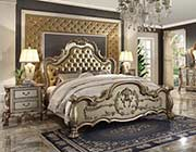 Luxurious Classic Bed Delmon