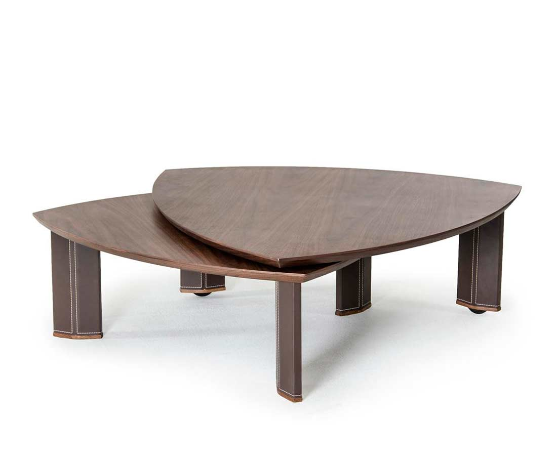 Modern Walnut Coffee Table Vg153 Contemporary