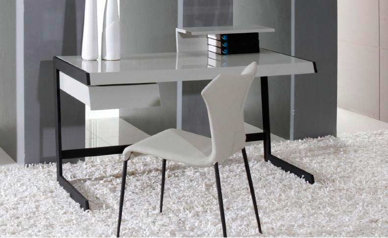office furniture desks modern grey lacquer office desk