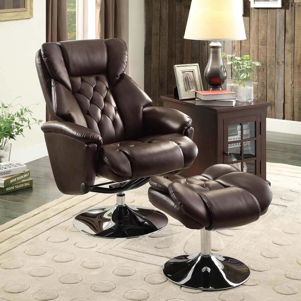 swivel brown recliner chair he548 recliners