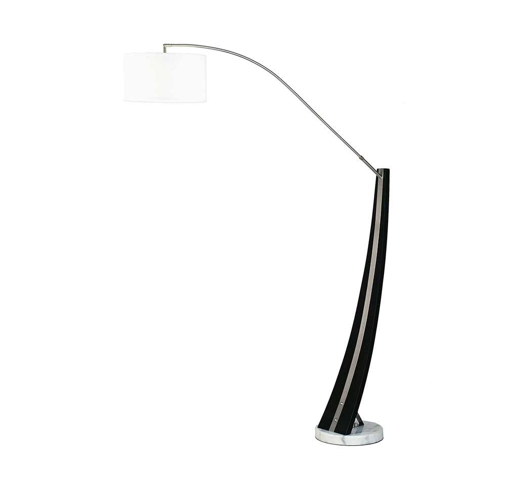 Arc floor lamp nl553 floor table for Arc floor lamp stand