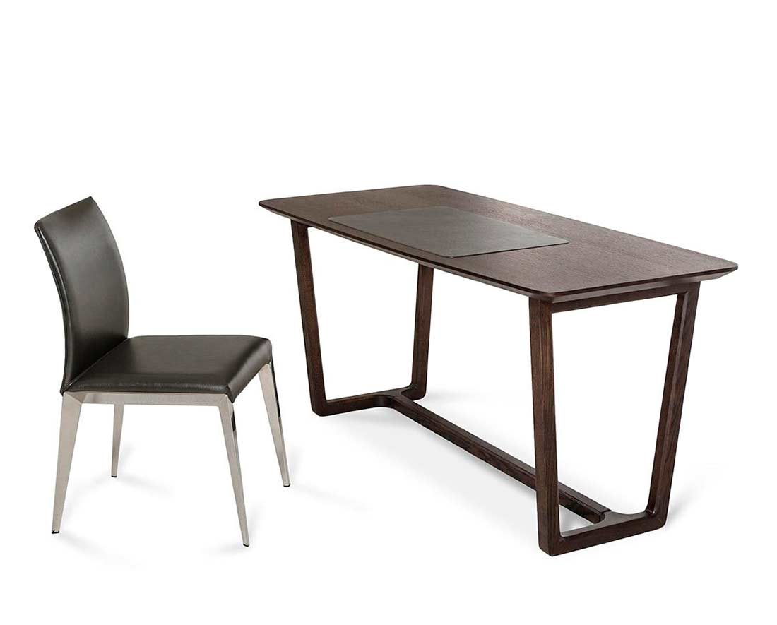 Modern Office Desk With Built In Mat Vg517 Desks