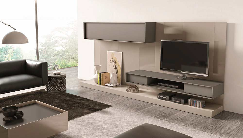 Modern tv unit sj217 wall units for Accent meuble la tuque