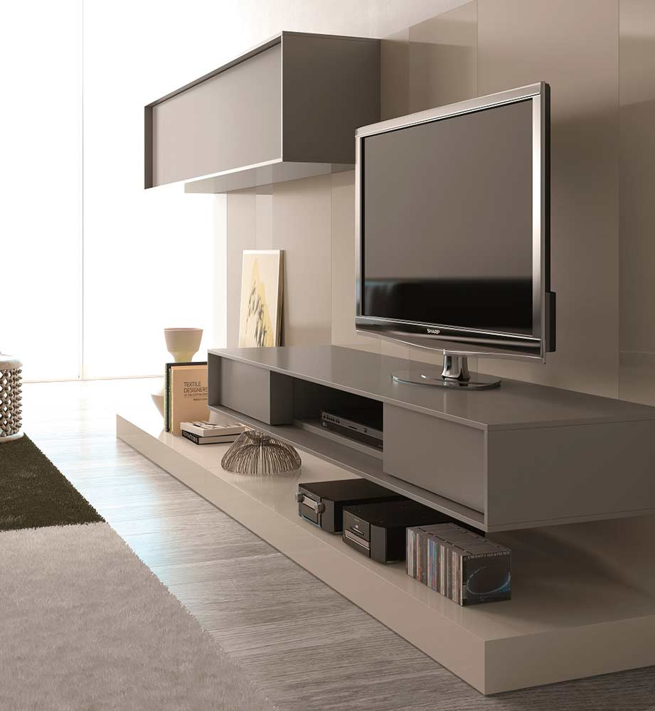 modern tv unit sj217 wall units. Black Bedroom Furniture Sets. Home Design Ideas