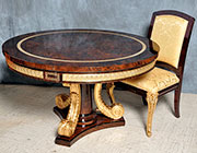 Luxurious Classic Round Dining Table Valentine