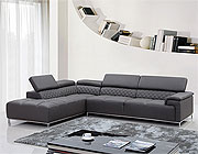 Eco-Leather Sectional Sofa VG82