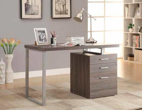 30 Excellent Gray Office Desks Yvotube Com