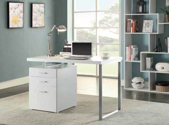 grey modern desk co 520 grey modern desk co 520
