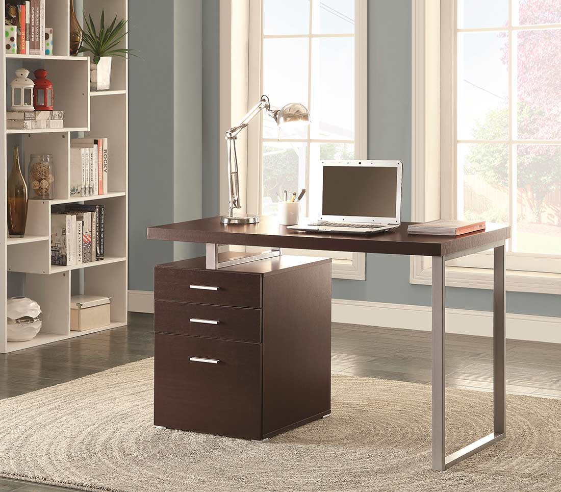 Modern Office Desk: Grey Modern Desk CO 520