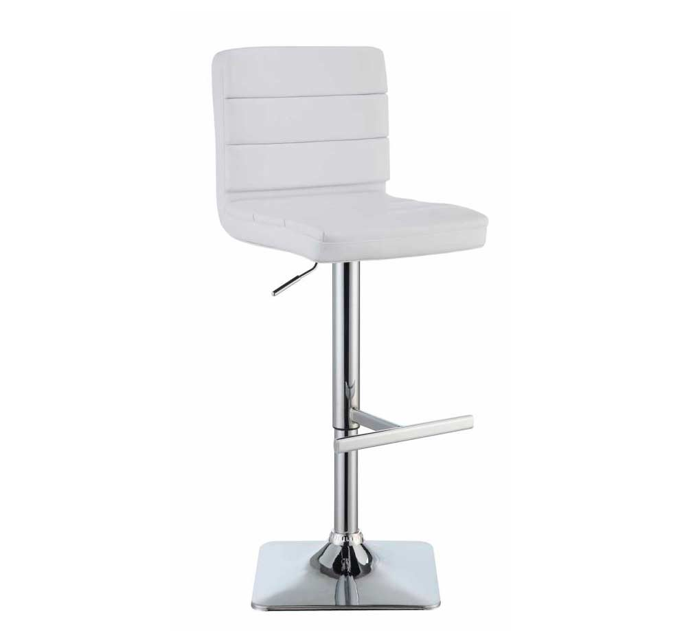 White Modern Bar Stool CO 694 Bar Stools : contemporary bar counter stool adjustable height black white grey co695 b1 from www.avetexfurniture.com size 993 x 918 jpeg 16kB