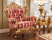 French Provincial Accent Armchair