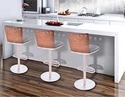 Walnut bar stool ArL Benett