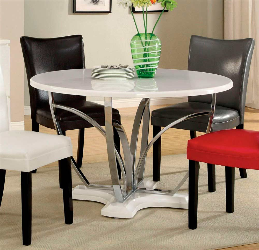 Modern black dining table fa177 urban transitional dining for Modern black dining table