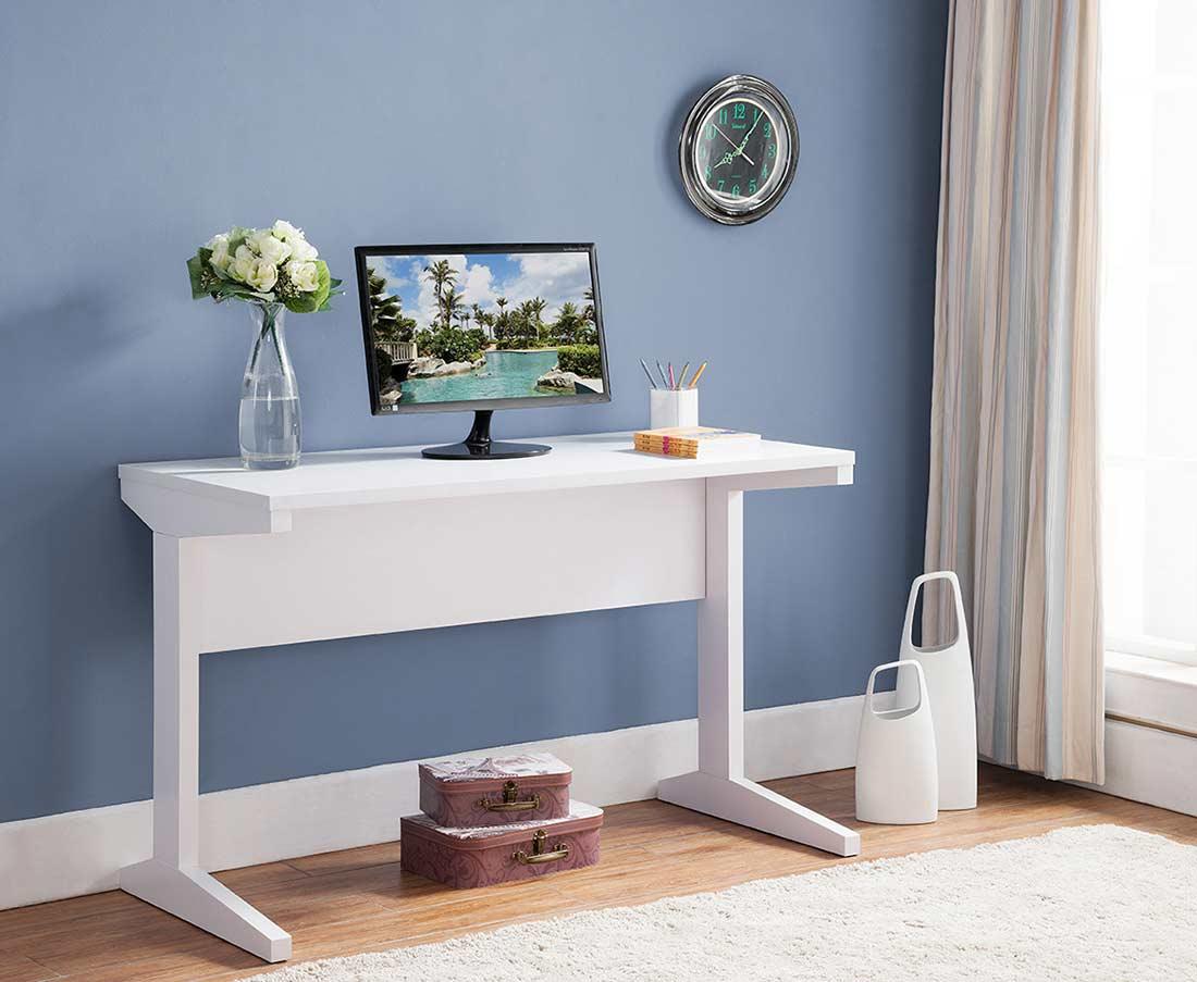 White Office Desk Id179 Desks